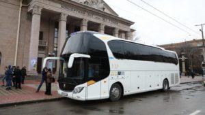 В Запорожье автобус для областной филармонии купили по значительно завышенной стоимости: началось расследование