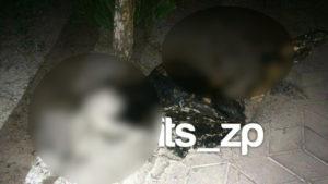 У Запоріжжі дівчина підпалила себе біля храму, - ФОТО (+18)