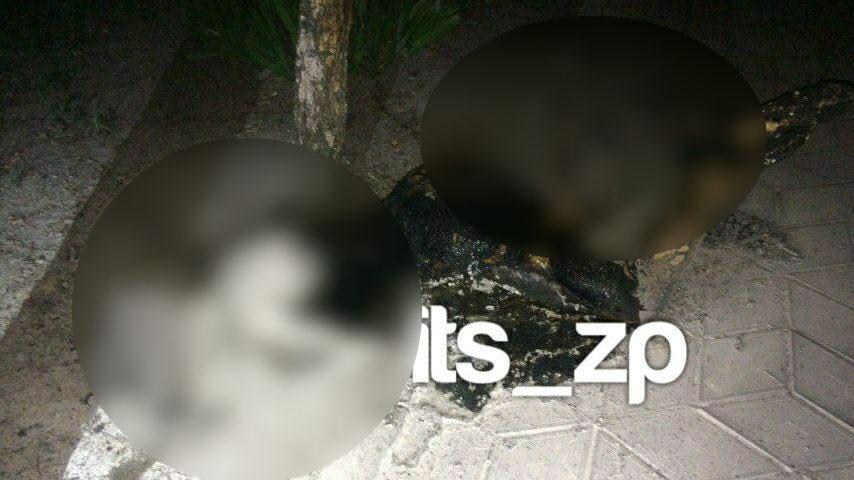 В Запорожье девушка подожгла себя возле храма, - ФОТО (+18)