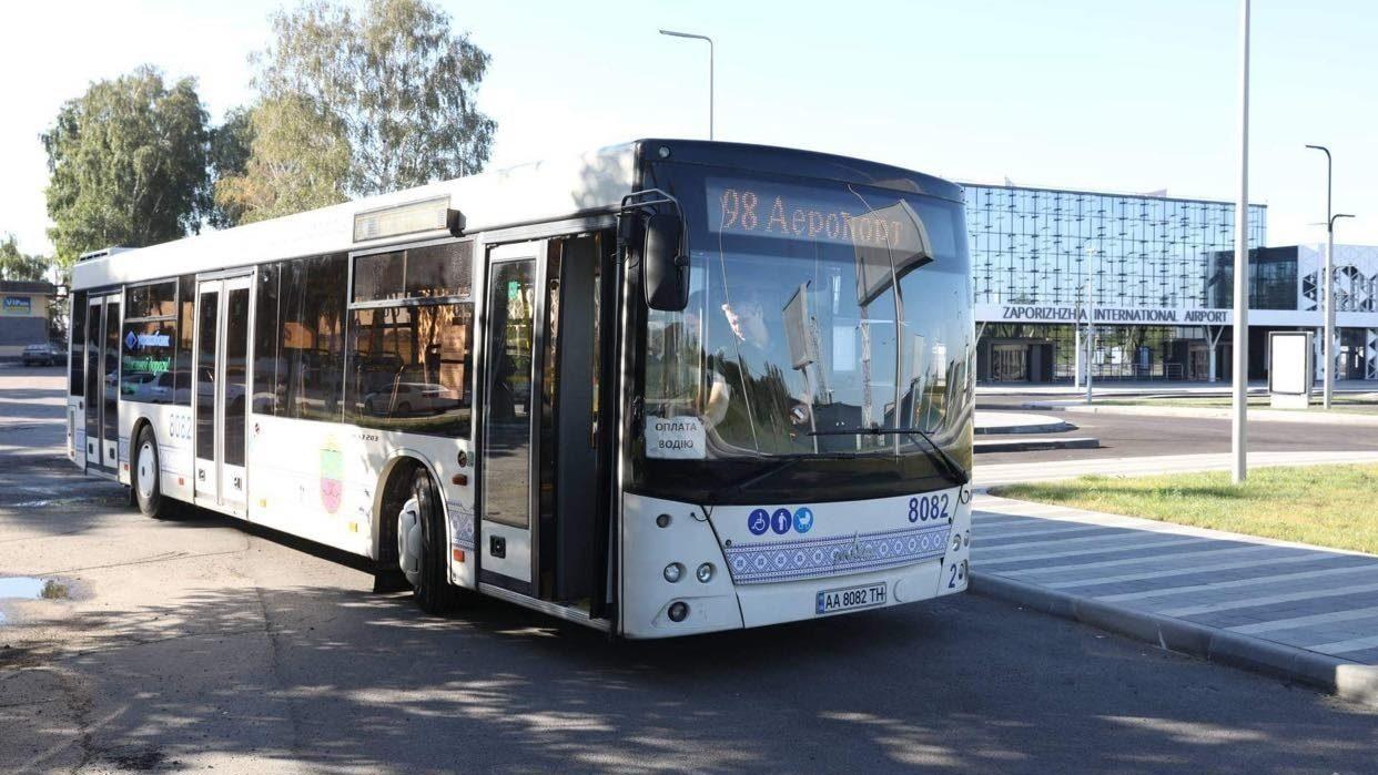У Запоріжжі сьогодні почав працювати новий автобусний маршрут, – ФОТО