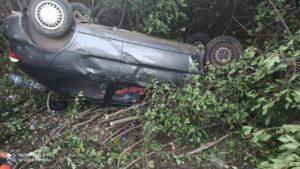 В Запорожской области авто вылетело в кювет, – ФОТО