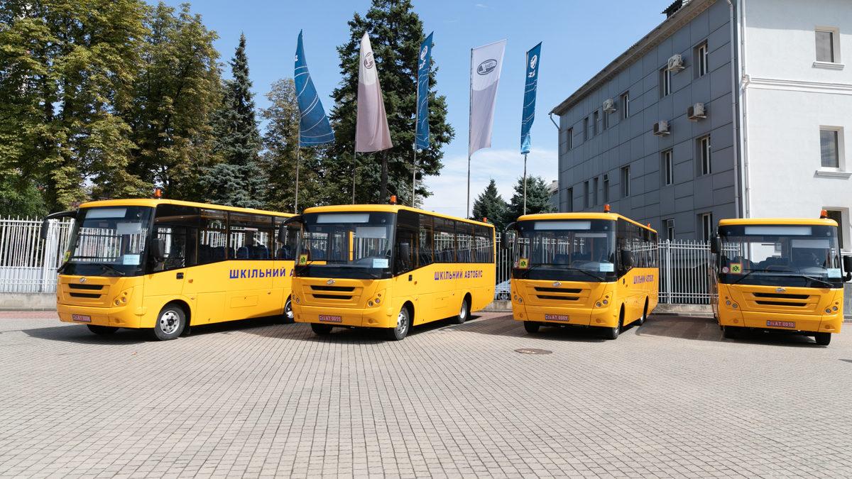 Запорожские школы получили четыре новых автобуса производства завода ЗАЗ, – ФОТО