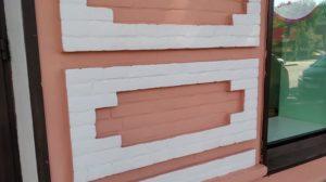 В Запоріжжі пофарбували перший поверх знаменитого будинку Лещинського, — ФОТО
