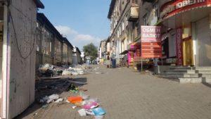 На запорожском рынке демонтировали более 20 незаконных павильонов, — ФОТО