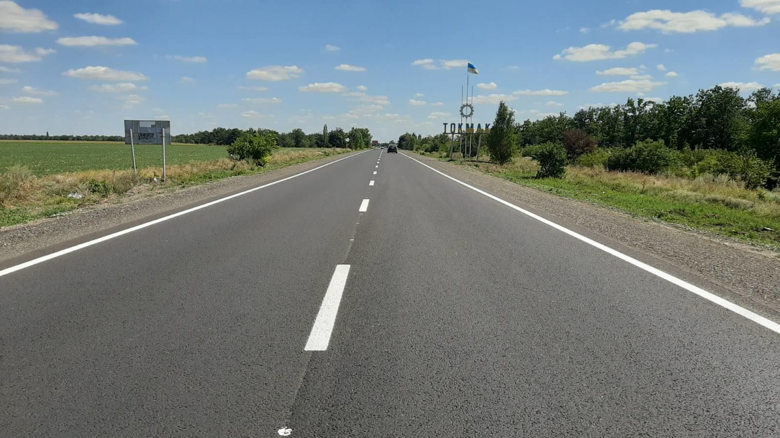 В Запорожской области полностью закончили строительство многомиллионной трассы на Бердянск, – ФОТО