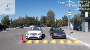 Інспектори з паркування в Запоріжжі на новій локації за день оштрафували 20 порушників