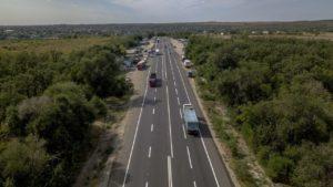 Як за півроку змінилась траса Запоріжжя – Мелітополь вартістю 2,4 млрд грн