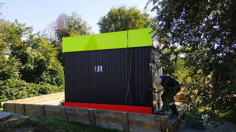 У Запоріжжі демонтували незаконну газову заправку, – ФОТО