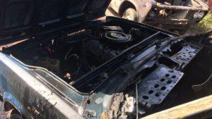 В Запорожье сгорела дотла очередная машина, — ФОТО