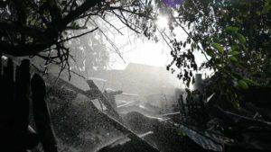 В Мелітополі згоріло сім господарчих споруд, — ФОТО