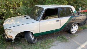 В Запорожской области пьяный водитель угнал легковушку и устроил ДТП, – ФОТО