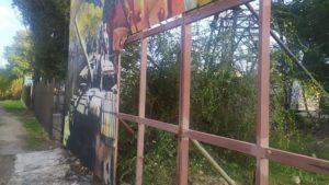 Невідомі вандали в Запоріжжі пошкодили патріотичний мурал, — ФОТО