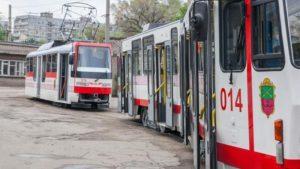 Запорожские трамваи временно не будут ездить