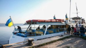 Сьогодні в Запоріжжі завершується сезон дачної навігації