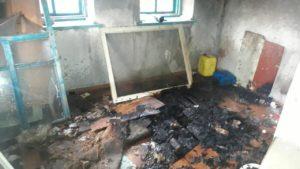 В Запорожской области в пожаре погиб человек