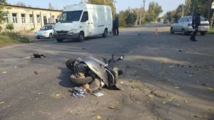 В Запорожской области погиб 65-летний мопедист: полиция ищет свидетелей