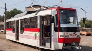 Внимание: в Запорожье временно прекратит движение трамвайный маршрут