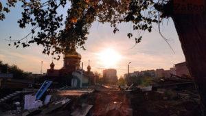 Підірвану у 2010 році церкву на Малому ринку в Запоріжжі розібрали: залишився фундамент, — ФОТО