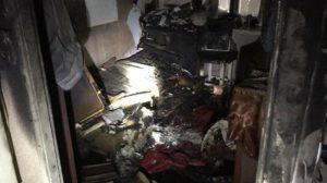 В запорожской многоэтажке по неизвестным причинам произошел пожар: погиб пожилой мужчина