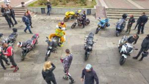 Как в Мелитополе байкеры закрыли мотосезон, — ФОТО