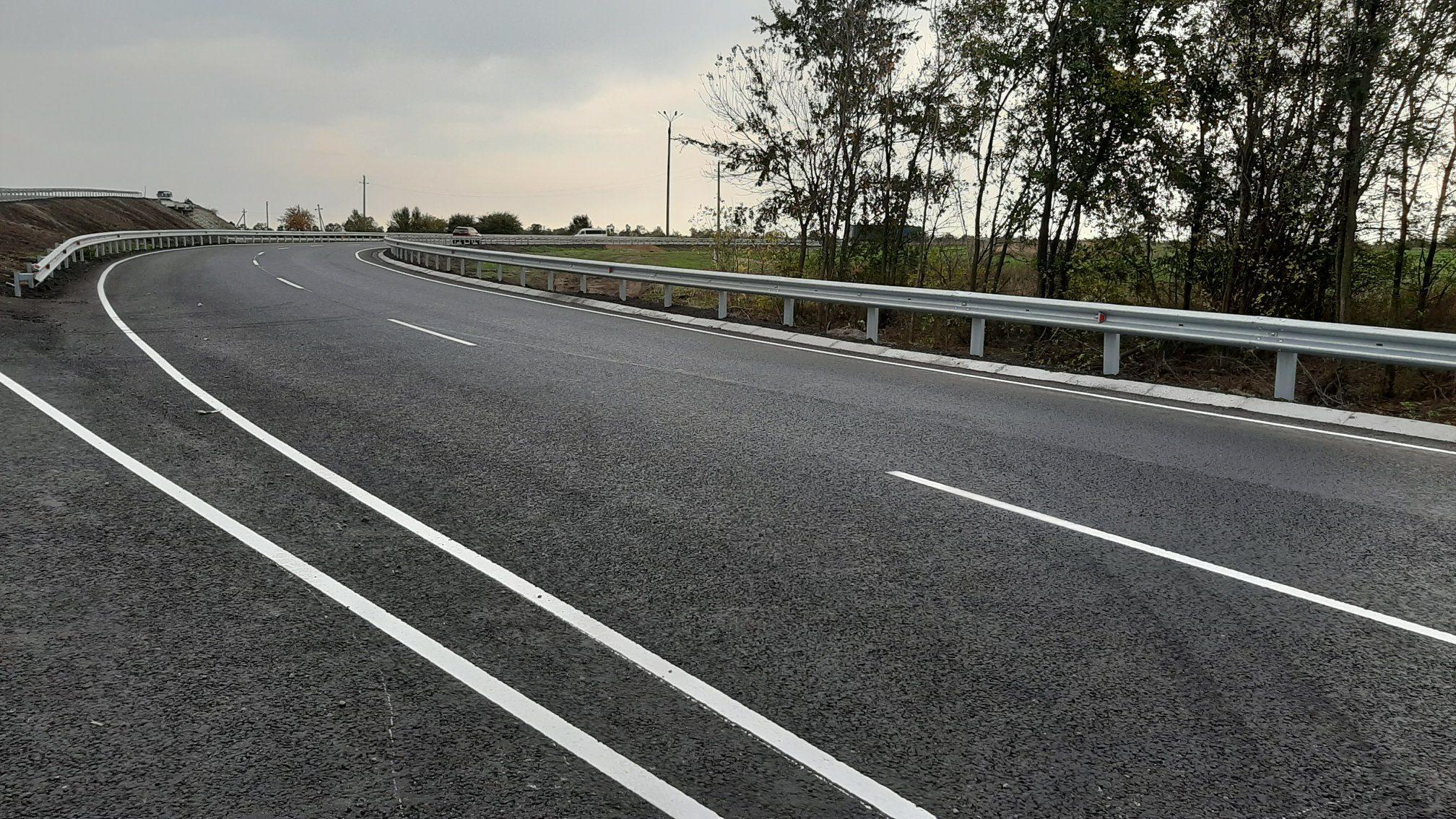 В Запорожской области закончили многомиллионный ремонт трассы, – ФОТО