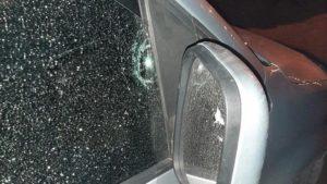 В Запорожье обстреляли автомобиль участника АТО, который баллотируется в депутаты, – ФОТО