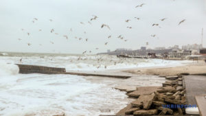 В акваторії Азовського моря протягом доби спостерігатимуться погіршення погодних умов