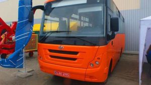 Запорожский автомобильный завод представил новую модель автобуса собственного производства, – ФОТО
