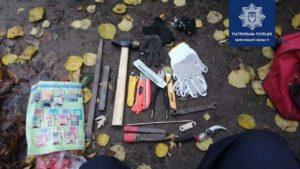 В Бородинському мікрорайоні затримали крадія кабелів