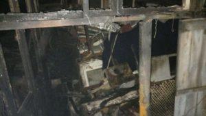В дачном кооперативе в Запорожской области загорелся дом, — ФОТО