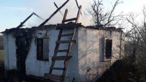 У пожежі в Бердянському районі загинув 65-річний чоловік