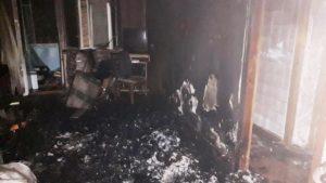 В Мелитополе в четыре утра произошел пожар в квартире: погиб человек