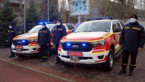 Запорожские спасатели получили новую спецтехнику, – ФОТО