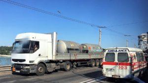 Фури в Запоріжжі зможуть їздити через греблю ДніпроГЕС