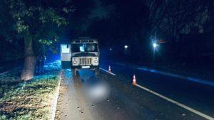 В Запорожье насмерть сбили пешехода, который неожиданно выбежал на дорогу, – ФОТО