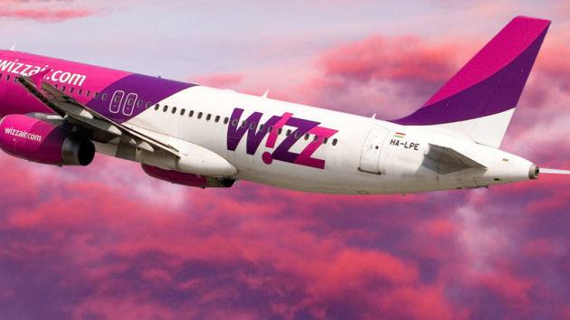 Wizz Air скасував 9 напрямків, серед яких є й запорізькі