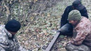 В Запоріжжі на ДД спіймали трійцю викрадачів залізничних рейок