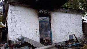 В Запорожской области в пожаре погиб человек: правоохранители устанавливают его личность