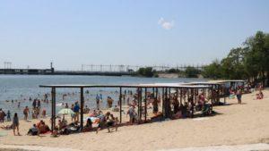 На Правобережный пляж в Запорожье потратят еще 8 млн гривен