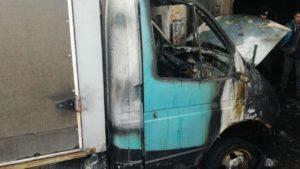В Запорожье загорелся грузовой автомобиль, – ФОТО