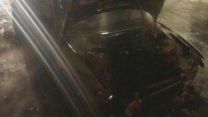 В Бердянске горела BMW: причины возгорания — неизвестны