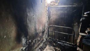 В Запорізькому районі вранці сталась пожежа: горів приватний будинок