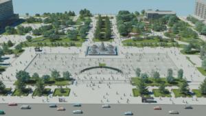 На реконструкцію площі Фестивальної планують виділити більше 70 млн гривень