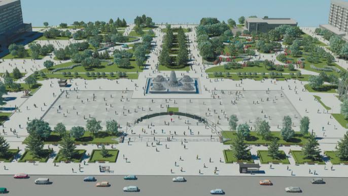 На реконструкцию площади Фестивальной планируют выделить более 70 млн гривен