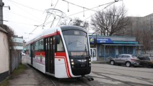 «Запорожэлектротранс» собрал новый трамвай