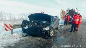 На запорожской трассе легковушка вылетела на встречную и врезалась в грузовик: есть пострадавшие, – ФОТО