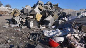 В Запорожье обнаружили кладбище компьютерной техники, – ФОТО