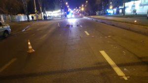 В Запорожье на Победе водитель насмерть сбил пешехода и сбежал с места ДТП, – ФОТО, ВИДЕО