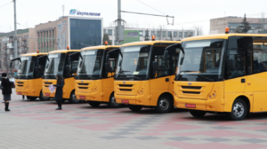 Запорожские школы получили еще пять автобусов производства ЗАЗа, – ФОТО