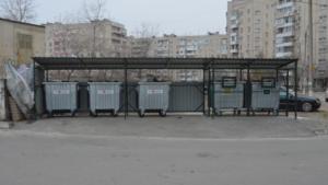 В Запорожье появилась еще одна современная контейнерная площадка, – ФОТО